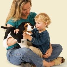 Beagle Puppet